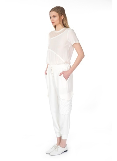 Tuba Ergin Bluz Beyaz